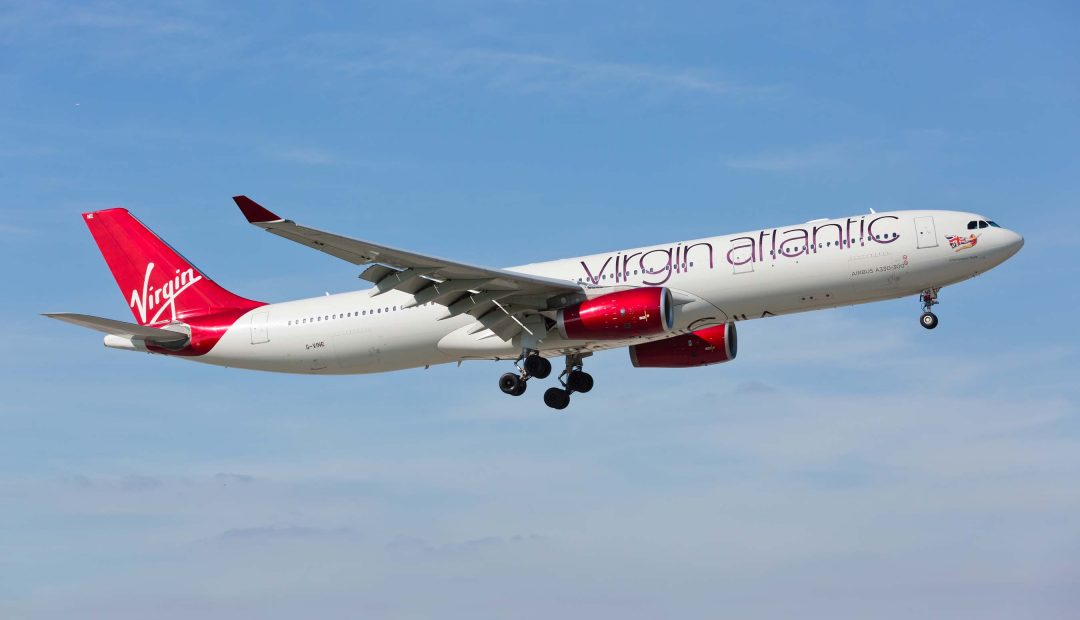 Virgin Atlantic Offers Free Coronavirus Insurance