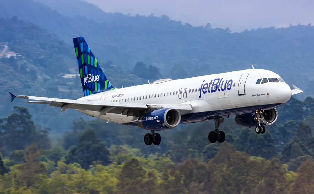 JetBlue Offers At-Home COVID Testing Before Flights