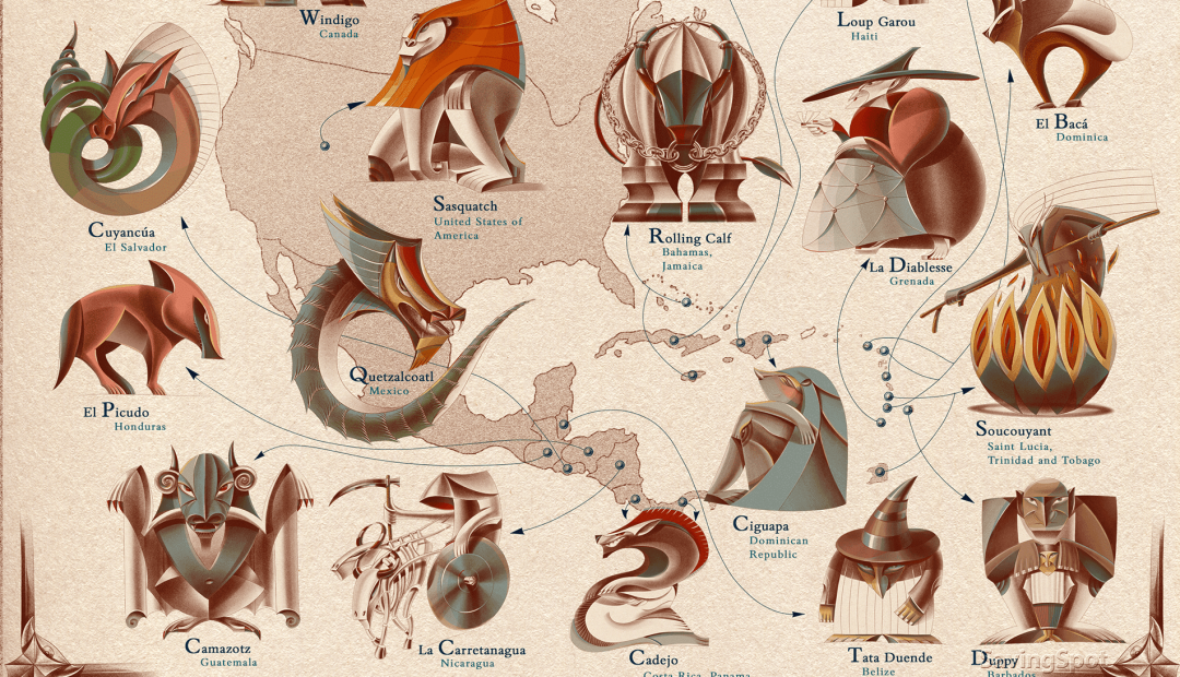 7 of the Most Famous Mythical Creatures Around the World