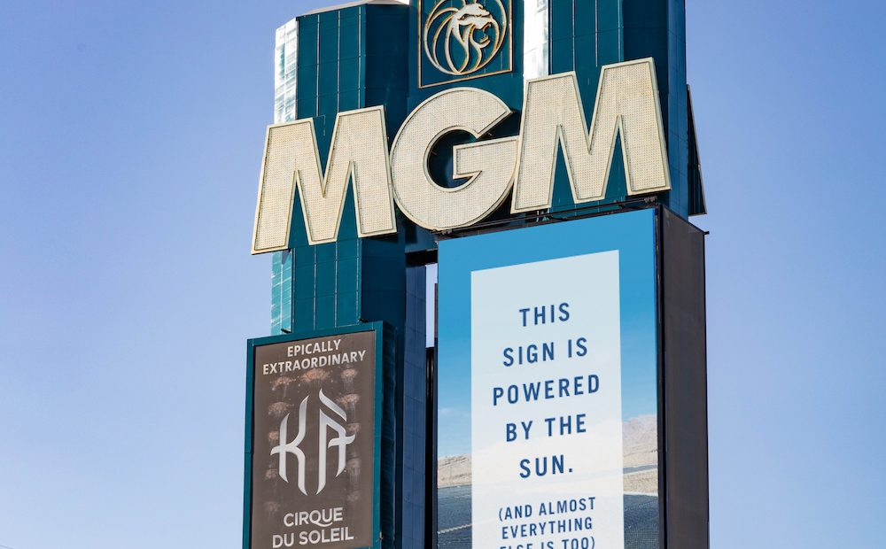 MGM Resorts Are Going Solar