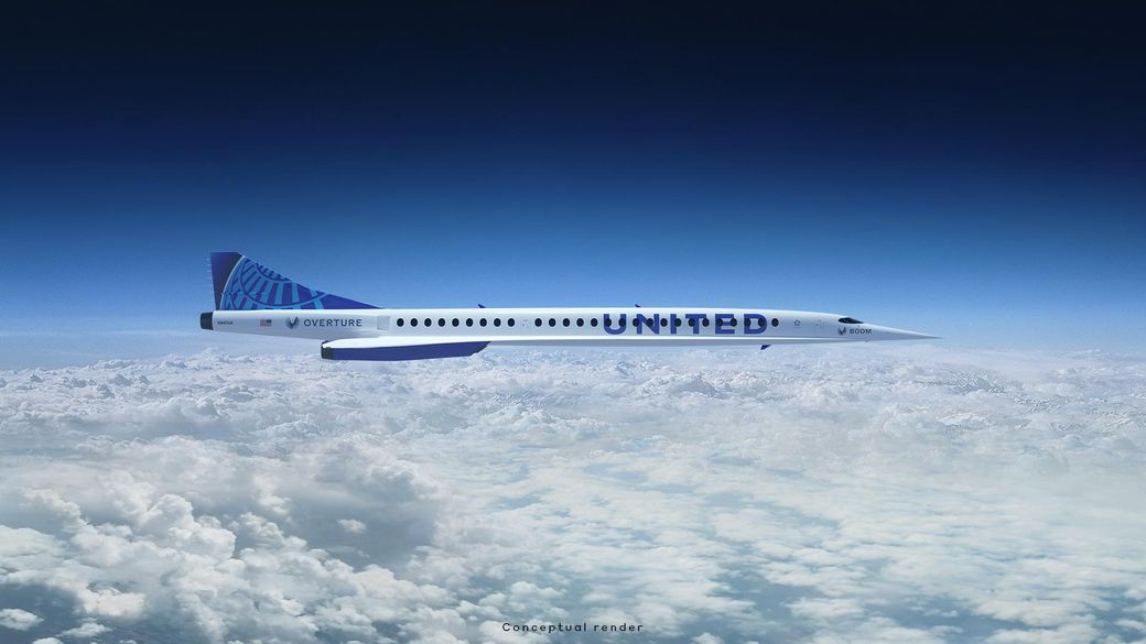 United Airlines Signs Deal for Supersonic Aircraft