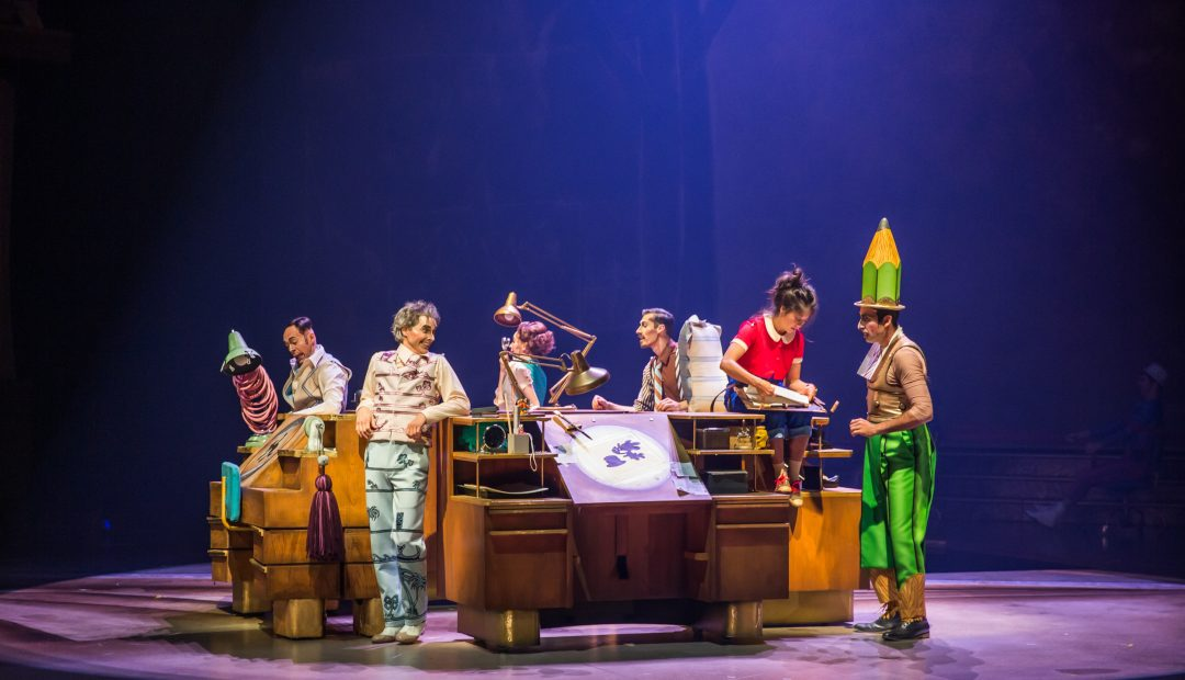 Disney and Cirque du Soleil to Premiere New Show 'Drawn to Life'