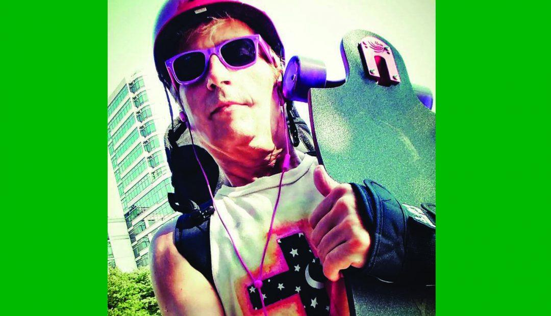 Laughlin Artz: Skateboarding to Save the Planet
